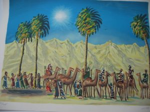 Joseph Sold by His Brothers by Cohen | Joy Schonberg Gallery