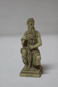 STATUE OF MOSES BY MICHAELANGELO BY G. RUGERRI