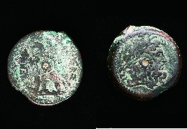 Large Bronze Coin Ptomelies