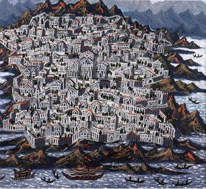 Temple of Solomon | Joy Schonberg Gallery