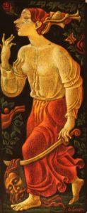 YEHUDIT AND THE HEAD OF HOLOFERNES BY JANET & EMMANUEL SNITKOVSKY