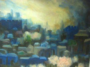 JERUSALEM IN THE SPRING BY DAVID RAKIA