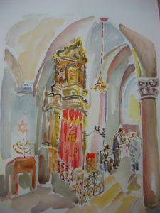 Abuhav Shul Safed Rika Schwimer