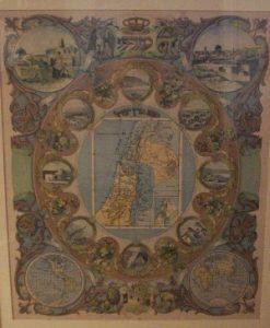 Mizrach Biblical Map