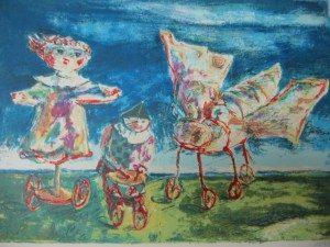 Childish Fantasies by Yosl Bergner