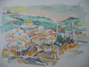Jerusalem by Rika Schwimer
